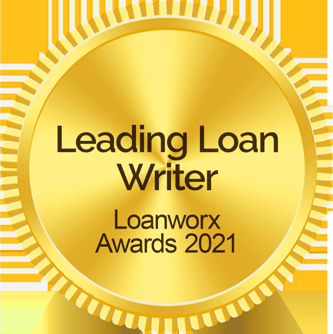 Leading Loan Writer - Loanworx Awards 2021