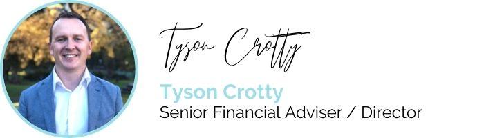 Tyson Crotty Senior Financial Advisor and Director